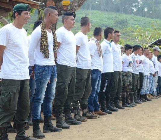 Las tropas de las Farc inician hoy su traslado final hacia las zonas de concentración. / Victor de Currea-Lugo