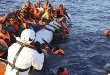 El drama de los refugiados que buscan llegar a Europa Foto: Francesco Malavolta / MOAS vía AP