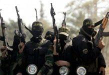 Militantes del Estado Islámico.AFP