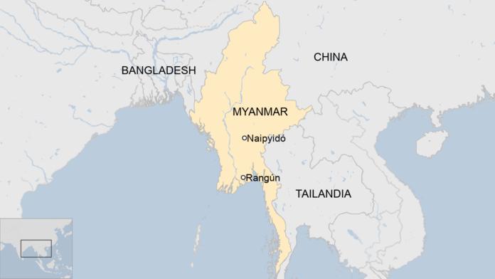 Conflictos de Birmania