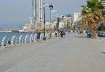 Paseo costero de Beirut