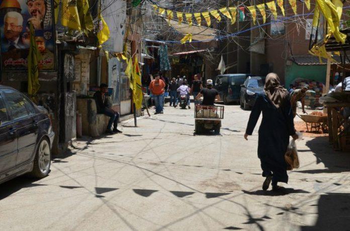 Campo de refugiados palestinos de Burj El Barajneh. Foto: Víctor de Currea-Lugo