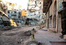 Foto: Foreign Commonwealth Office-Ciudad de Alepo después de los bombardeos de las fuerzas de Bashar al-Asad.