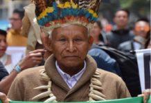 """""""No podemos permitirnos, que aquellos que se aprovecharon de los recursos de la guerra, hoy se aprovechen de los recursos de la paz"""". Foto Víctor de Currea Lugo"""