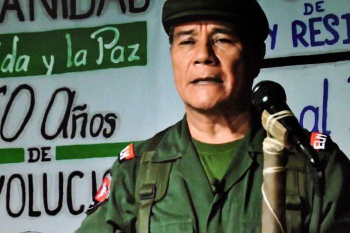 """En enero pasado, en un video, Nicolás Rodríguez Bautista, """"Gabino"""", comandante del Eln, reiteró la disposición de iniciar un proceso de paz. / AFP"""
