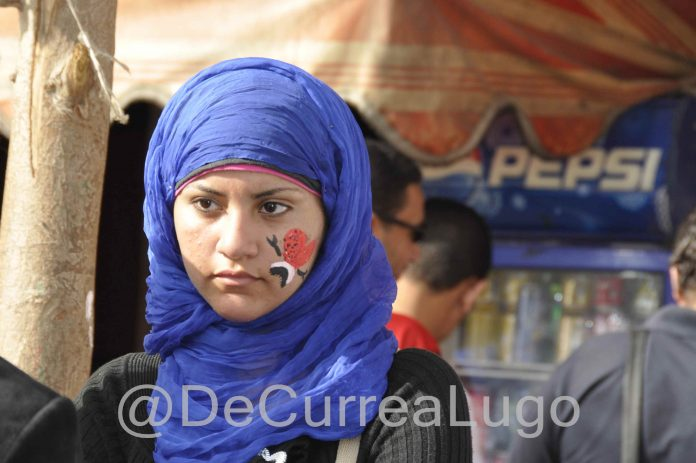 Mujer Revueltas Árabes