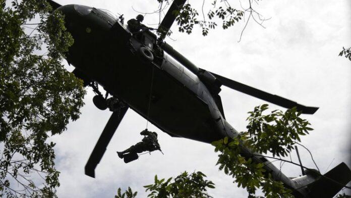 Bombardeo en Guaviare