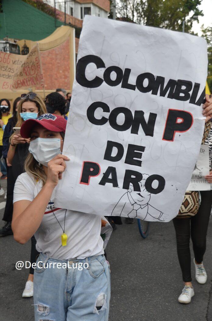 Mitos protesta en colombia 2021