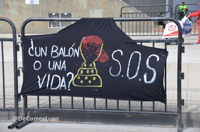 futbol Barranquilla protesta