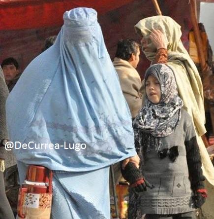 afganos en Colombia