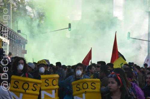 GALERÍA | Postales de la marcha estudiantil 8