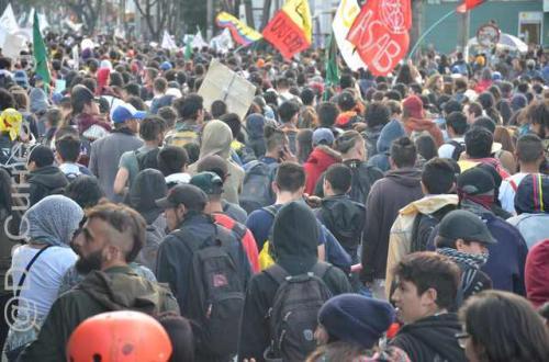 GALERÍA | Postales de la marcha estudiantil 13