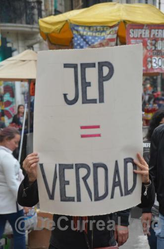 GALERÍA | Marcha por la JEP, por la paz. 21