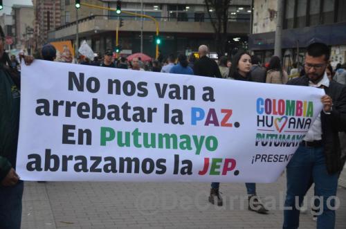 GALERÍA | Marcha por la JEP, por la paz. 15