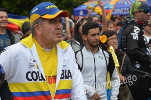 GALERÍA | Zipaquirá celebró triunfo de Egan Bernal 25