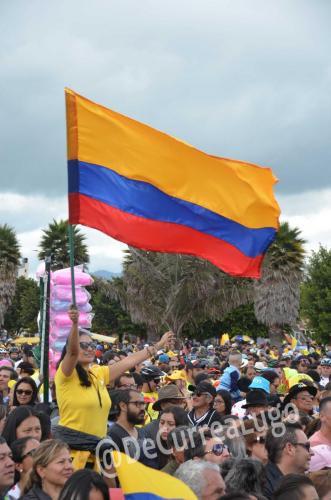 GALERÍA | Zipaquirá celebró triunfo de Egan Bernal 20