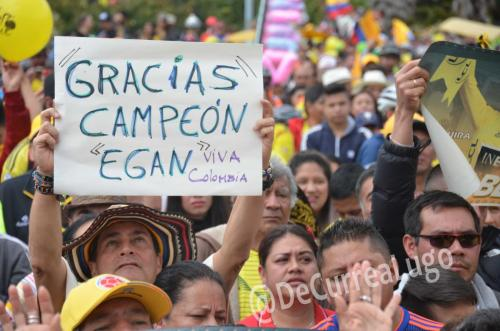 GALERÍA | Zipaquirá celebró triunfo de Egan Bernal 18