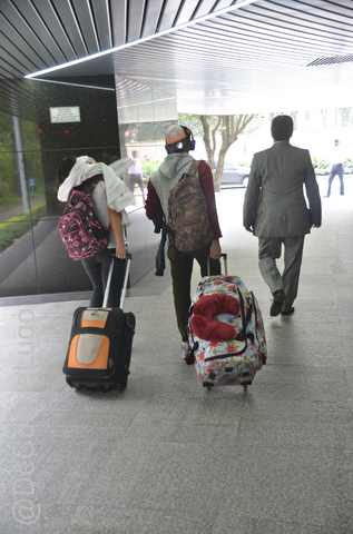 GALERÍA | Migrantes venezolanos, de Bogotá a Caracas 2
