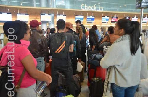 GALERÍA | Migrantes venezolanos, de Bogotá a Caracas 22