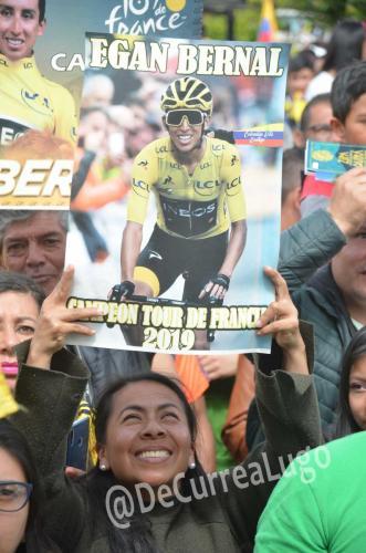 GALERÍA | Zipaquirá celebró triunfo de Egan Bernal 8