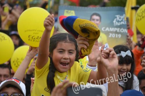 GALERÍA | Zipaquirá celebró triunfo de Egan Bernal 7