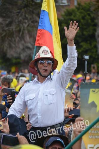 GALERÍA | Zipaquirá celebró triunfo de Egan Bernal 6