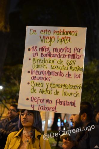 GALERÍA | La noche vive, el paro sigue 24